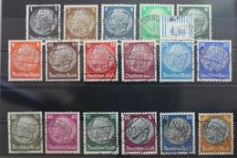 Deutsches Reich 512-528 Gestempelt #SF388 - Deutschland