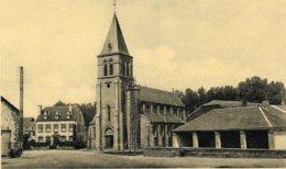 Pin Sur Semois 1217 L'église Et La Route D'Arlon - Chiny