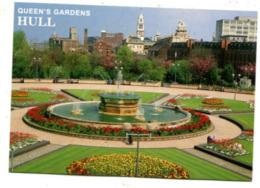ENGLAND - AK 365736 Hull - Queen's Gardens - Hull