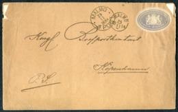 "1884 Sweden Postsaksmärke ""Postexpeditionen"" Malmo Cover - Copenhagen Denmark. - Sweden"