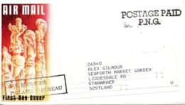 PAPOUASIE. Enveloppe Ayant Circulé. - Papouasie-Nouvelle-Guinée