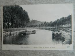 CHATEAULIN           L'AULNE   CANAL DE NANTES A BREST - Châteaulin