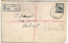 AUSTRALIA ENMORE CC CERTIFICADA 1946 EMU AVE BIRD - Pájaros