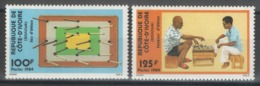 Côte D'Ivoire - YT 699-700 ** MNH - 1984 - Jeu - Game - Côte D'Ivoire (1960-...)