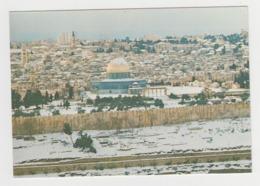 AC076 - ISRAEL - JERUSALEM Covered With Snow - Israël
