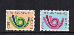SAN MARINO - 1973 - Europa CEPT - 2 Valori - Nuovi ** - (FDC18195) - Europa-CEPT