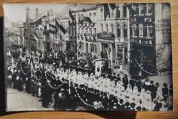1856/ BASTOGNE - Festivités 27 Juin 1920- Cortège/Pharma.Françoic/Delhaize/Loncin-Daoust.. - Bastogne