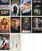 UNITED STATES - B.E.L. INTERNATIONAL - MOVIE CINEMA THEMATIC - 9 DIFFERENT CARDS MINT - Vereinigte Staaten