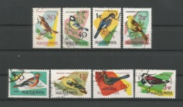 Hungary 1961 Birds Y.T. 1478/1485 (0) - Hongarije