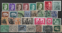 Germany 1889 - 1955 Stamp Accumulation (including Adolf Hitler Collection, VF), 30pcs, Used And Mint - Germany