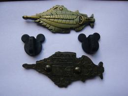 Big Pin S  DISNEY NAUTILUS RELIEF 5 X 2 Cm LE250 Tbq - Disney