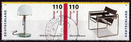BRD Mi. Nr. 2001+2002 O Zusammendruck Aus Block 45 (A-7-7) - Used Stamps