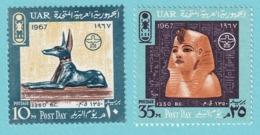 1967, Scott No.712/713, MNH - Nuevos