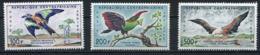 Centrafrique YT PA 1-3 XX / MNH Oiseau Bird Animal Wildlife - Centrafricaine (République)