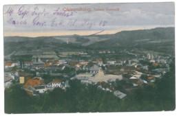 RO 54 - 12642 CAMPULUNG, Romania, Panorama - Old Postcard - Used - 1918 - Romania