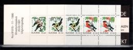 Finlande - Carnet C1100 N** MNH , Oiseaux 1991 - Finland