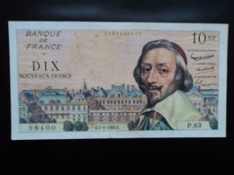 FRANCE : 10 NOUVEAUX FRANCS   7-4-1960    FAYETTE 57 / P 142a    TTB+ * - 1959-1966 Francos Nuevos