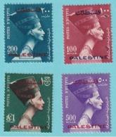 1954/1956, Plastine Scott No.N53/N56, MNH - Egipto