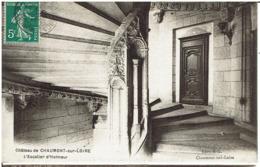 Cc - CPA - 41 - CHAUMONT SUR LOIRE - CHÂTEAU -  L'escalier D'Honneur  - - Otros Municipios