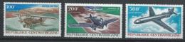 Centrafrique YT PA 50-52 XX / MNH Aviation - Centrafricaine (République)