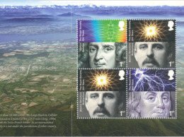 Newton Rutherford Franklin - Optik Atom Struktur Elektrizität - Blitz Linse Atomkern - Physik