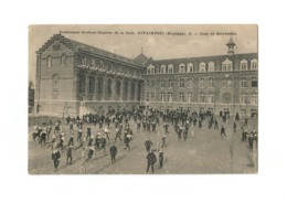 Pensionnat St-Jean-Baptiste De La Salle.  ESTAIMPUIS (Belgique) - Cour De Récréation (1913) - Estaimpuis