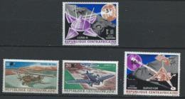 Centrafrique YT PA 61-64 XX / MNH Aviation Espace Space - Centrafricaine (République)