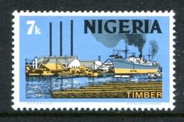 Nigeria 1973-74 Pictorials - Litho. - 7k Timber MNH (SG 294) - Nigeria (1961-...)