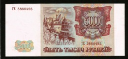 * Russia 5000 Rubles 1993 ! AUNC - UNC ! - Russland