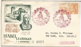 MEDINA DEL CAMPO VALLADOLID 1951 ISABEL LA CATOLICA - 1931-Hoy: 2ª República - ... Juan Carlos I