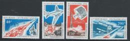 Centrafrique YT PA 100-103 XX / MNH Espace Space - Centrafricaine (République)