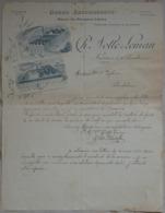 Lessines Facture Notté Malterie Orges ... 1920 - Luxembourg