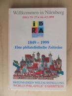 Germany Deutschland 1999 IBRA Internationale Briefmarken Weltausstellung Nürnberg World Philatelic Exhibition Catalogue - Mostre Filateliche