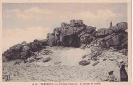 29 PLOUDALMEZEAU Tréompan, Le Rocher Du Serpent - Animée - Ploudalmézeau