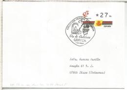 GRANADA 1992 CC CON ATM Y MATASELLOS DIA ANDALUCIA CON RECIBO MAQUINA ATM - 1931-Hoy: 2ª República - ... Juan Carlos I