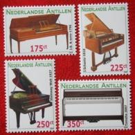PIANO KLAVIER MUSIC MUZIEK NVPH 1929-1932 2009 MNH POSTFRIS NEDERLANDSE ANTILLEN  NETHERLANDS ANTILLES - Curacao, Netherlands Antilles, Aruba
