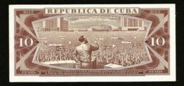 * Cuba 10 Pesos 1969  ! SPECIMEN ! - Cuba