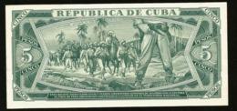 * Cuba 5 Pesos 1968  ! SPECIMEN ! - Cuba
