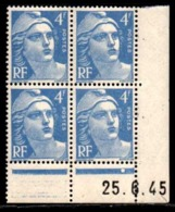 Coin Daté Gandon N° 717 Du 25/6/1945 ** - 1940-1949