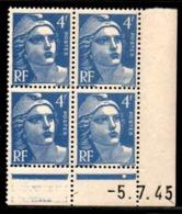 Coin Daté Gandon N° 717 Du 5/7/1945 ** - 1940-1949