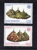 SAN MARINO - 1977 - Europa CEPT - 2 Valori - Nuovi ** - (FDC18196) - Europa-CEPT