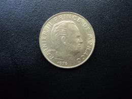 MONACO : 20 CENTIMES   1976    KM 143      SUP+ / SPL * - Monaco