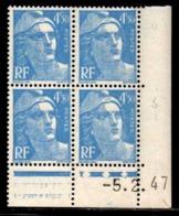Coin Daté Gandon N° 718A Du 5/2/1947 ** - 1940-1949