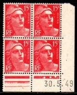 Coin Daté Gandon N° 813 Du 30/5/1949 ** - 1940-1949