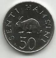 Tanzania 50 Senti 1990. High Grade - Tanzania