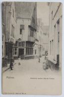 CPA Précurseur Malines Persaonnges Ancienne Maison Dite De Pekton - Malines