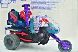 Vintage ACTION FIGURE GI JOE: Dreadnok Cycle [Dreadnok Tri-cycle]  With BLUEPRINT(BOOKLET) - Original 1987 - Hasbro - Action Man