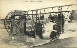 Turkey, ANTIOCHE ANTAKYA HATAY, Water Wheel, Noria (1920s) Thevenet 41 Postcard - Turquie