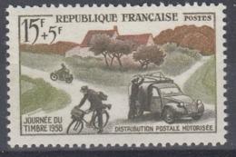 +France 1958. Journée Du Timbre. Yvert 1151. Neufs. MNH(**) - Ungebraucht