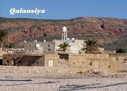 Socotra Island UNESCO Qalansiya Mosque Yemen New Postcard Sokotra Insel AK - Yemen